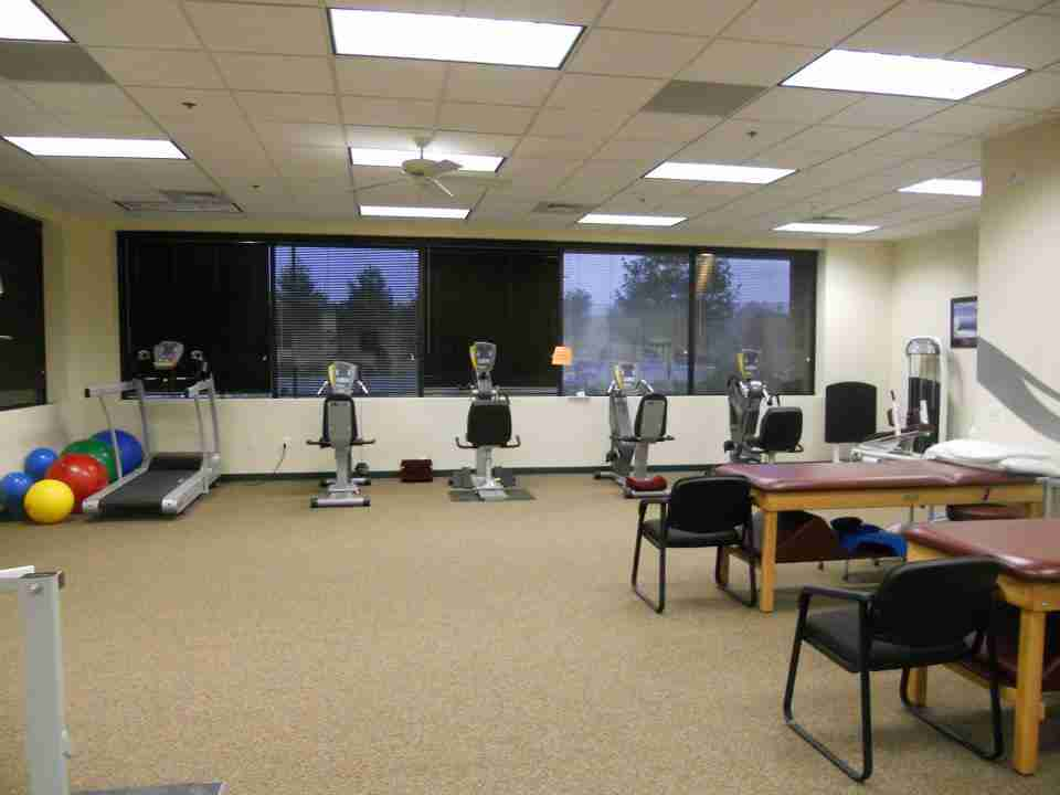 ORW physical therapy room